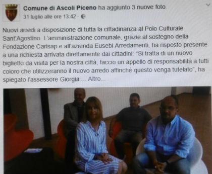 Immigrati ad ascoli tesoretto da 140 mila euro per il for Eusebi arredamenti